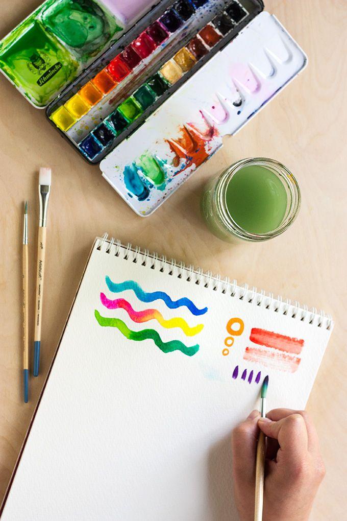 TOOLBOX: Watercolor Basics | Watercolour | Pinterest | Toolbox ...