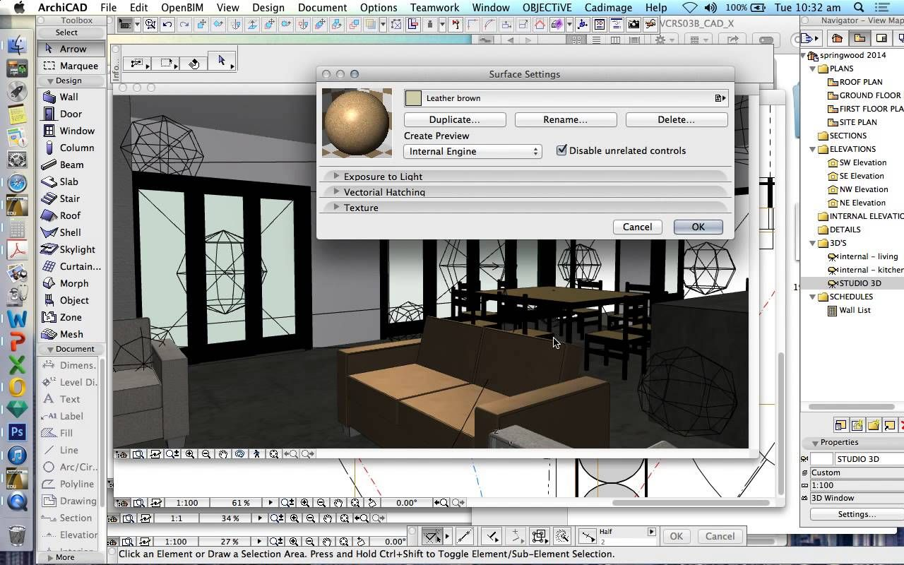 Archicad Surfaces Materials Creating Custom Surfaces Textures Interior Design Software Interior Design Renderings Software Design