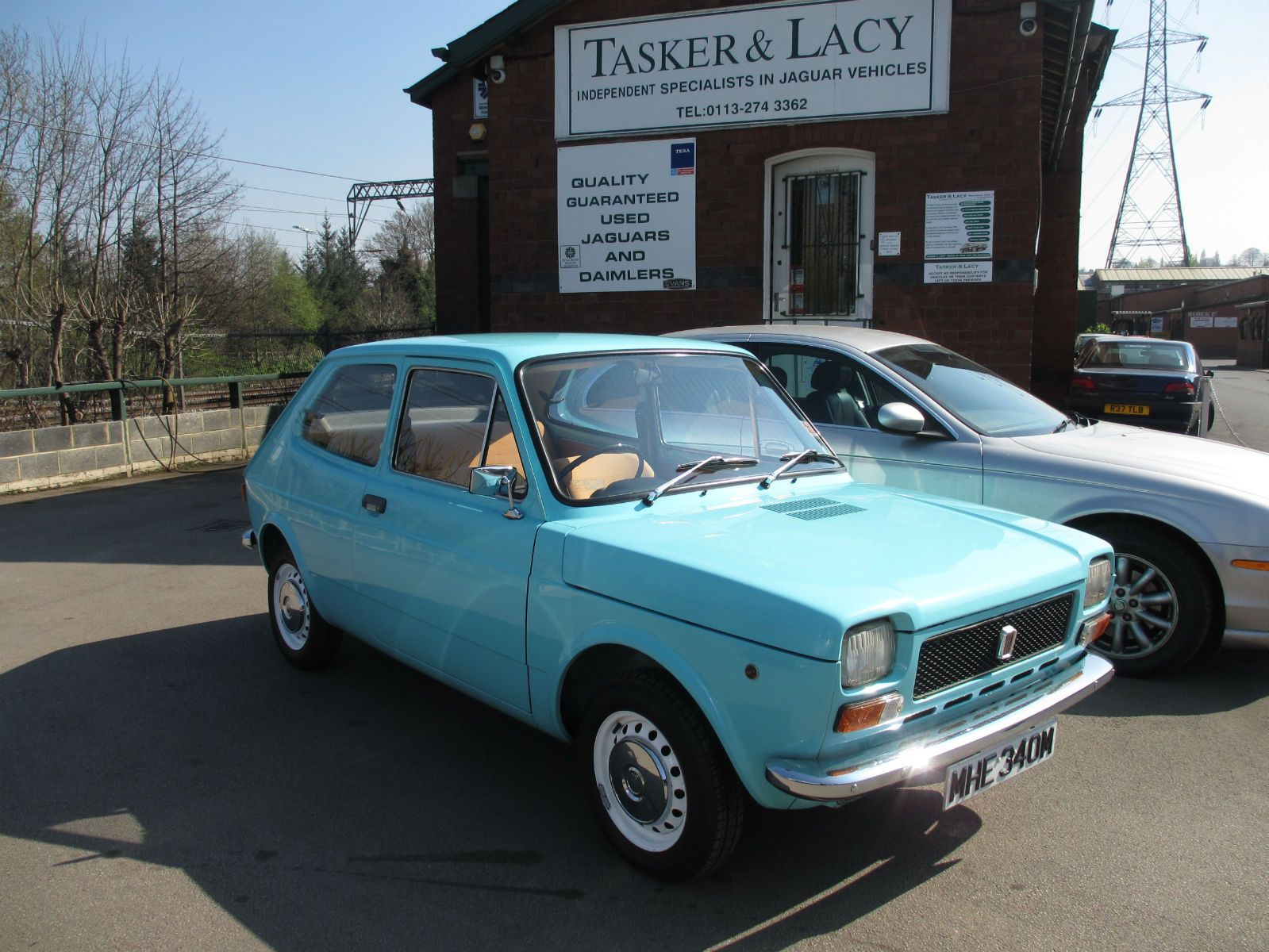 1974 Fiat 127 903cc Light Blue Time Warp Condtion Just 1710 Miles