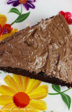 Quick & Easy Chocolate Cake #easychocolatecake