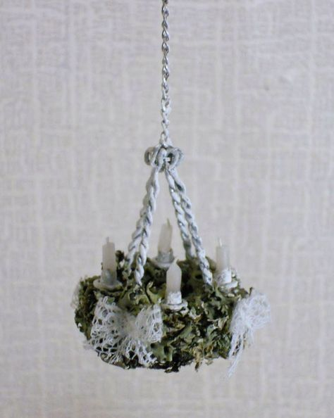 How to miniature candle chandelier mini chandeliers pinterest how to miniature candle chandelier aloadofball Gallery