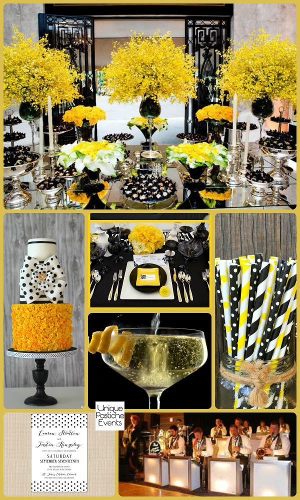 Pops Of Polka Dots Soiree Inspiration Yellow Birthday Parties