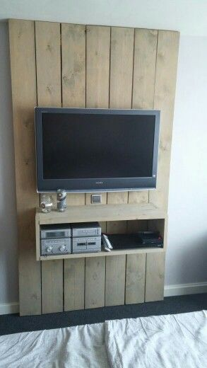 Industrial Tv In Kitchen Display Deko