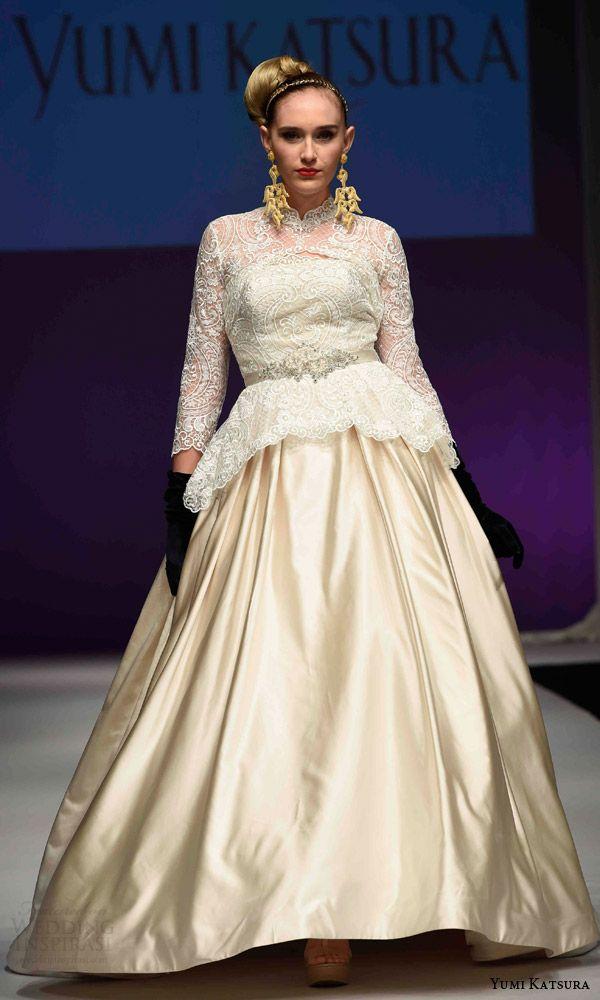 Yumi Katsura Fall 2016 Wedding 50th Anniversary Golden Harvest Bridal Collection