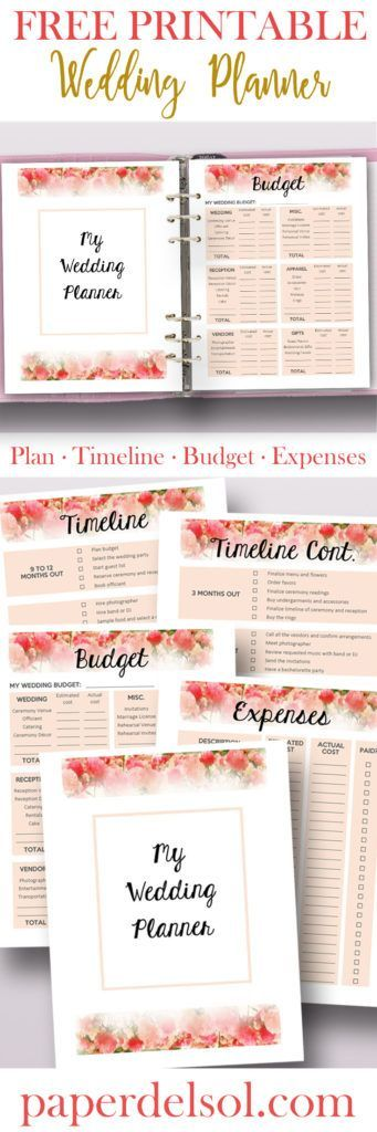 image about Free Printable Wedding Binder Templates identify Cost-free Printable Wedding ceremony Planner for Marriage ceremony Binder