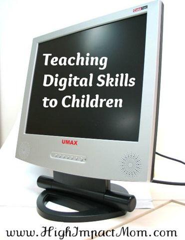 Teaching Kids Basic Computer Skills And Digital Safety Teaching Computers Teaching Technology Digital Safety