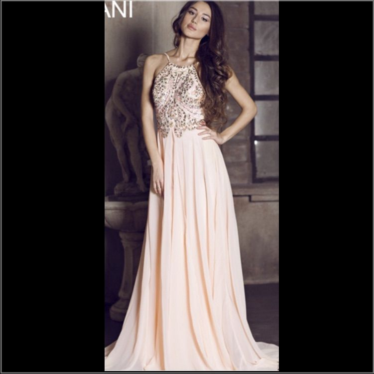 Peach Colored Prom Dress | Peach colors and Products