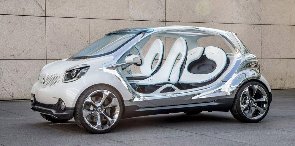 o futuro do smart 4 portas multticlique cars concept cars rh pinterest ie