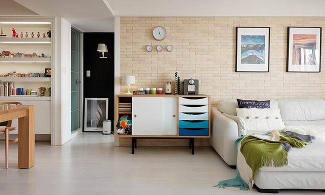 多彩丰富的温暖公寓 / 北鸥空间设计 - 居宅 - 室内设计师网