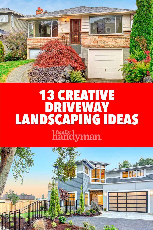 13 Creative Driveway Landscaping Ideas Driveway