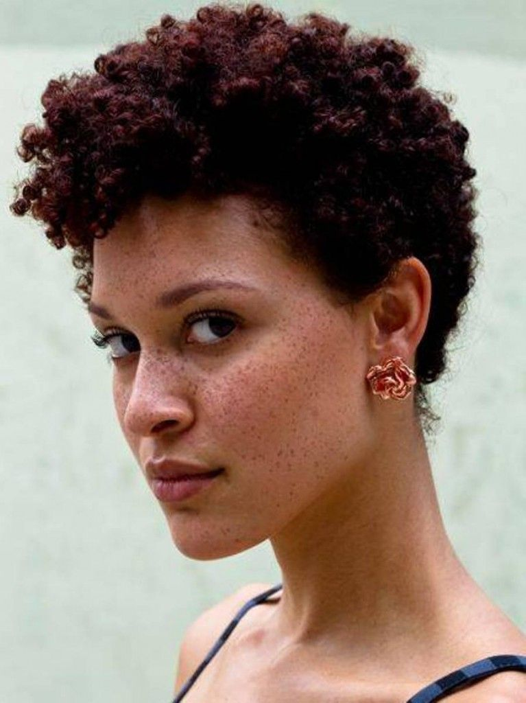 Curly Afro Hairstyles For Womens Afrocan Queen Pinterest Curly