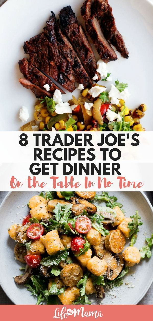 8 Trader Joe's Recipes To Get Dinner On The Table In No Time images