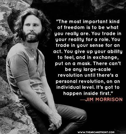 Revolution Quotes Jim Morrison  Personal Revolution Quote  Life's Beautiful Moments
