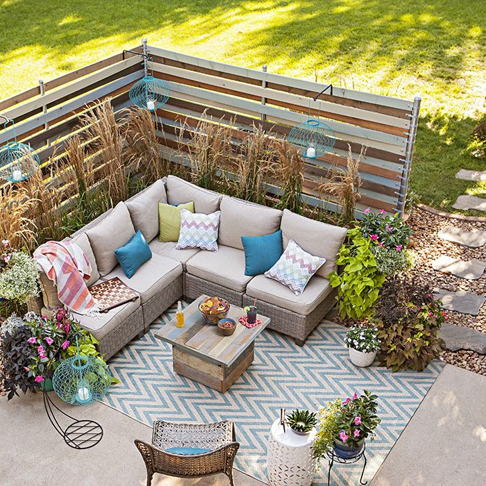 backyard privacy ideas woven corner privacy screens gardening rh pinterest ca
