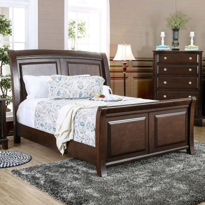 furniture of america millard sleigh bed products bed sleigh rh in pinterest com