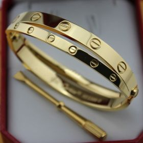 6093a948ee23b Cartier Love Bracelets Replica Yellow Gold stainless steel. This was  originally called the slave bracelet.