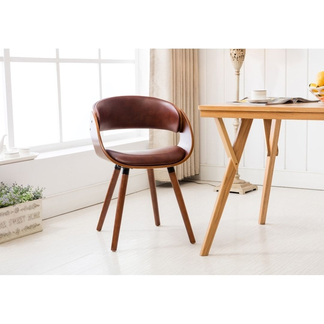 Porthos Homes Dining Chair With PVC Upholstery