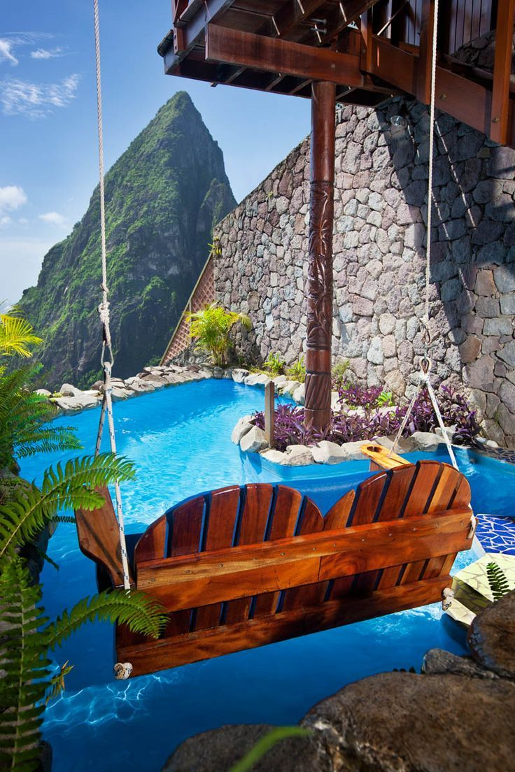 St lucia resort ladera resort talk about a room with a view