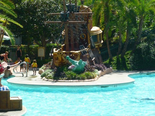 picture at the disneys pool