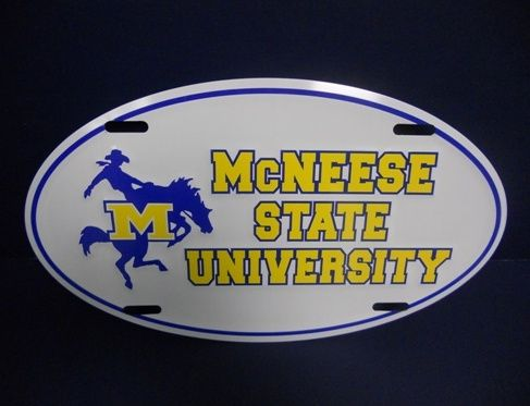 McNeese State Cowboys #2 NCAA College Vinyl Decal Sticker Car Window Wall