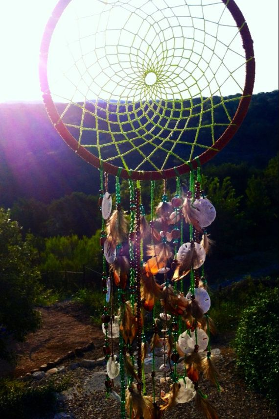 Sea Shell Dream Catcher by FollowYourDreams18 on Etsy, $25.00