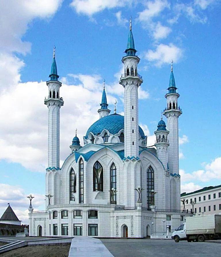 مسجد قازان روسيا.      kazan اmosquée Russie