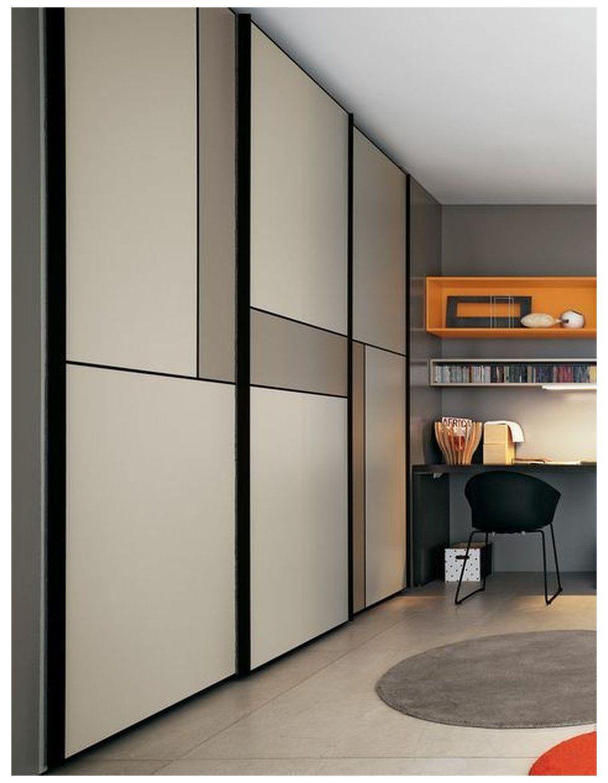 20 Amazing Sliding Door Wardrobe Design Ideas Built In Wardrobes Offer Convenience In 2020 Sliding Door Wardrobe Designs Sliding Wardrobe Doors Wardrobe Door Designs