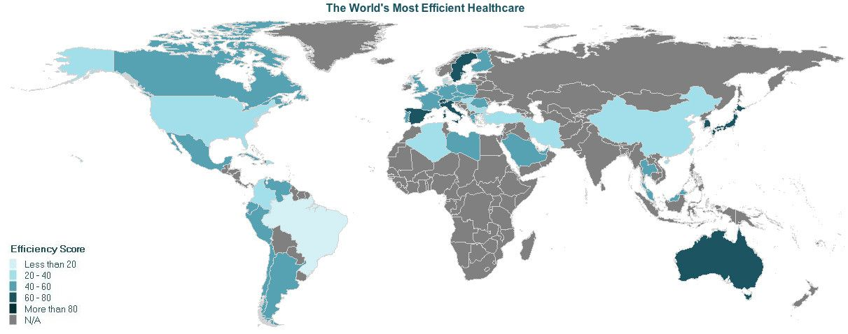 INFOGRAPHIC The Most Efficient Health Care In