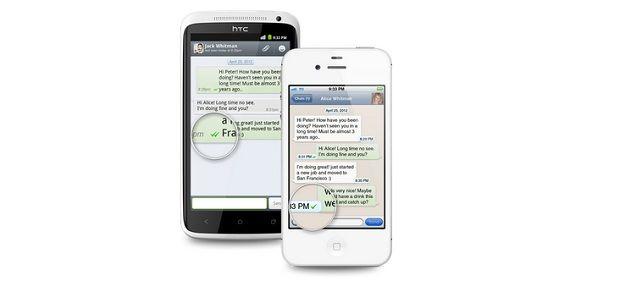 O que significam os sinais no WhatsApp e Viber?