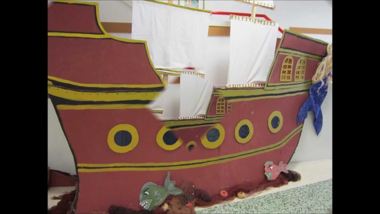 O barco pirata de Infantil. Proxecto O MAR, curso 2012-2013   UD ...