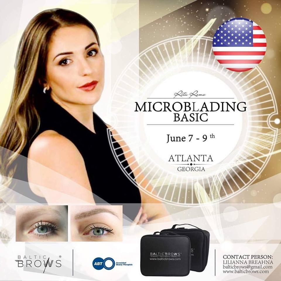✨Microblading Basic Course ✨ @baltic_brows June 7-9th