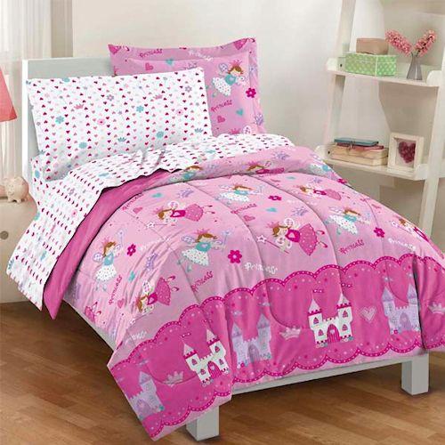 Princess Bedding Set Girls Sets, Fairy Princess Twin Bedding