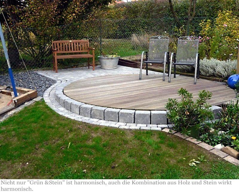 Terrasse Holz und Stein - Google-Suche | Garten - Garden | Pinterest ...