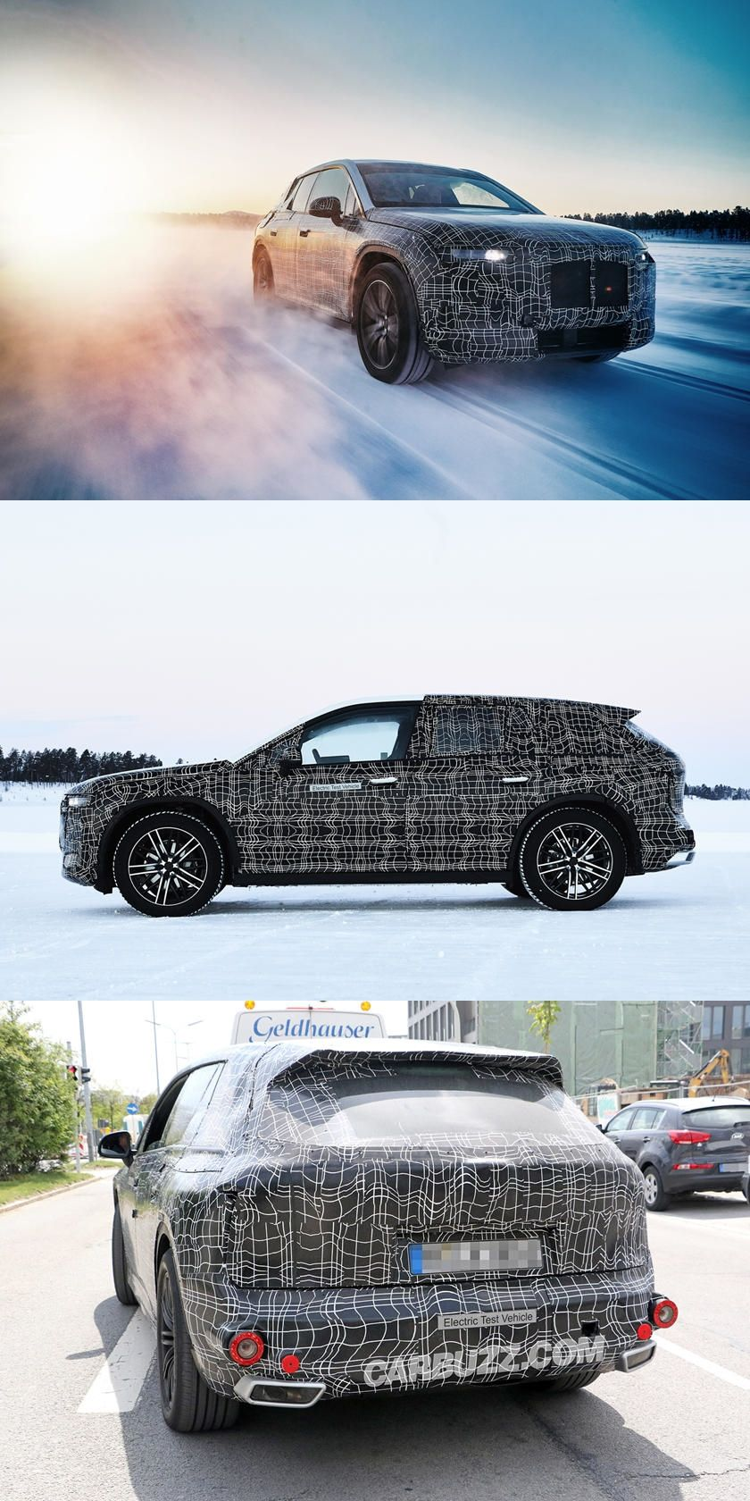 Production Bmw Inext Will Get A Brand New Name And Three Different Power Outputs In 2020 Bmw Bmw Models Electric Crossover