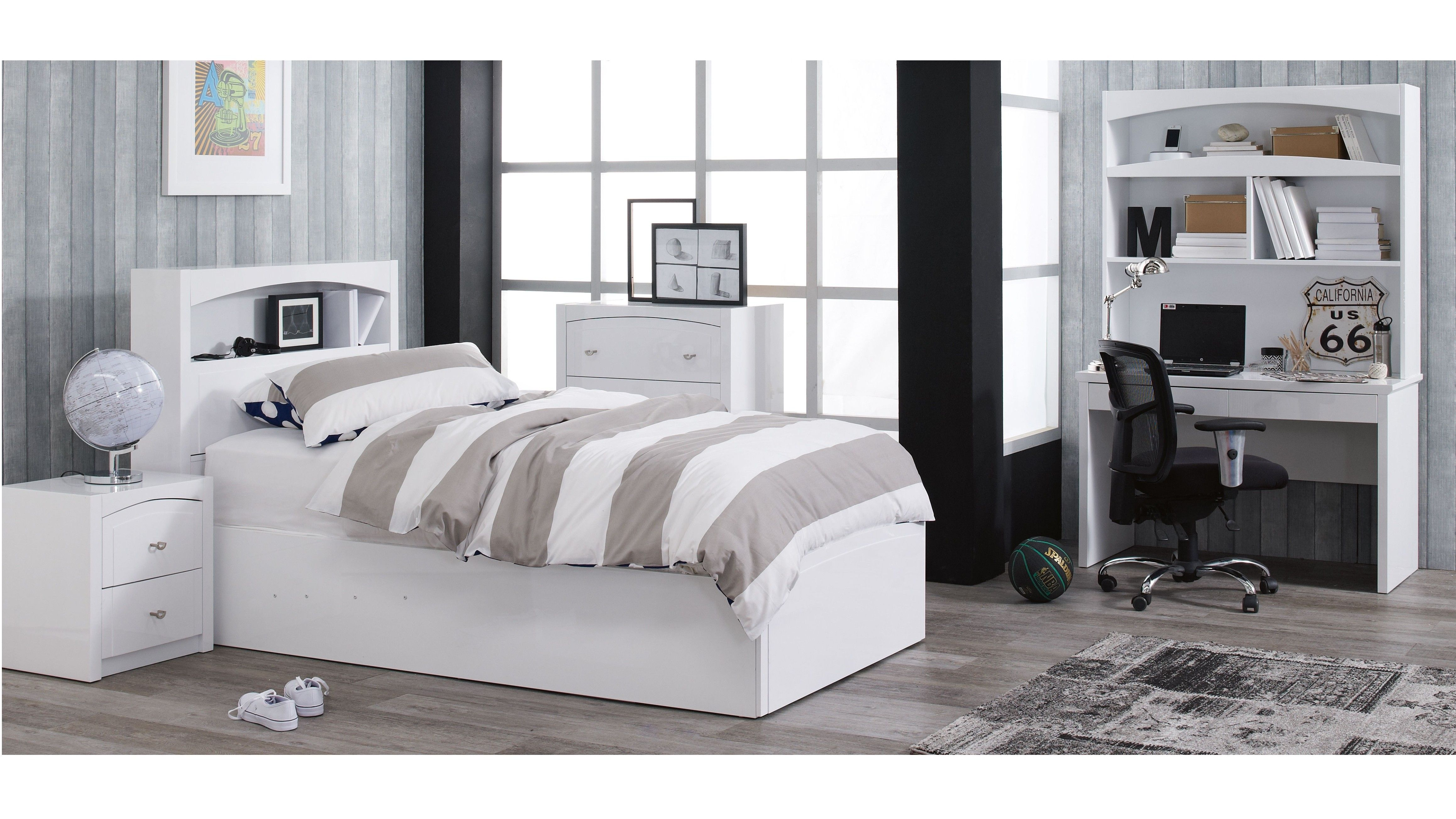 Single Bed Bedroom Combining Contemporary Style With Practical Features The Maxi