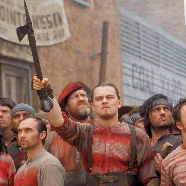 Leonardo DiCaprio. Gangs of New York