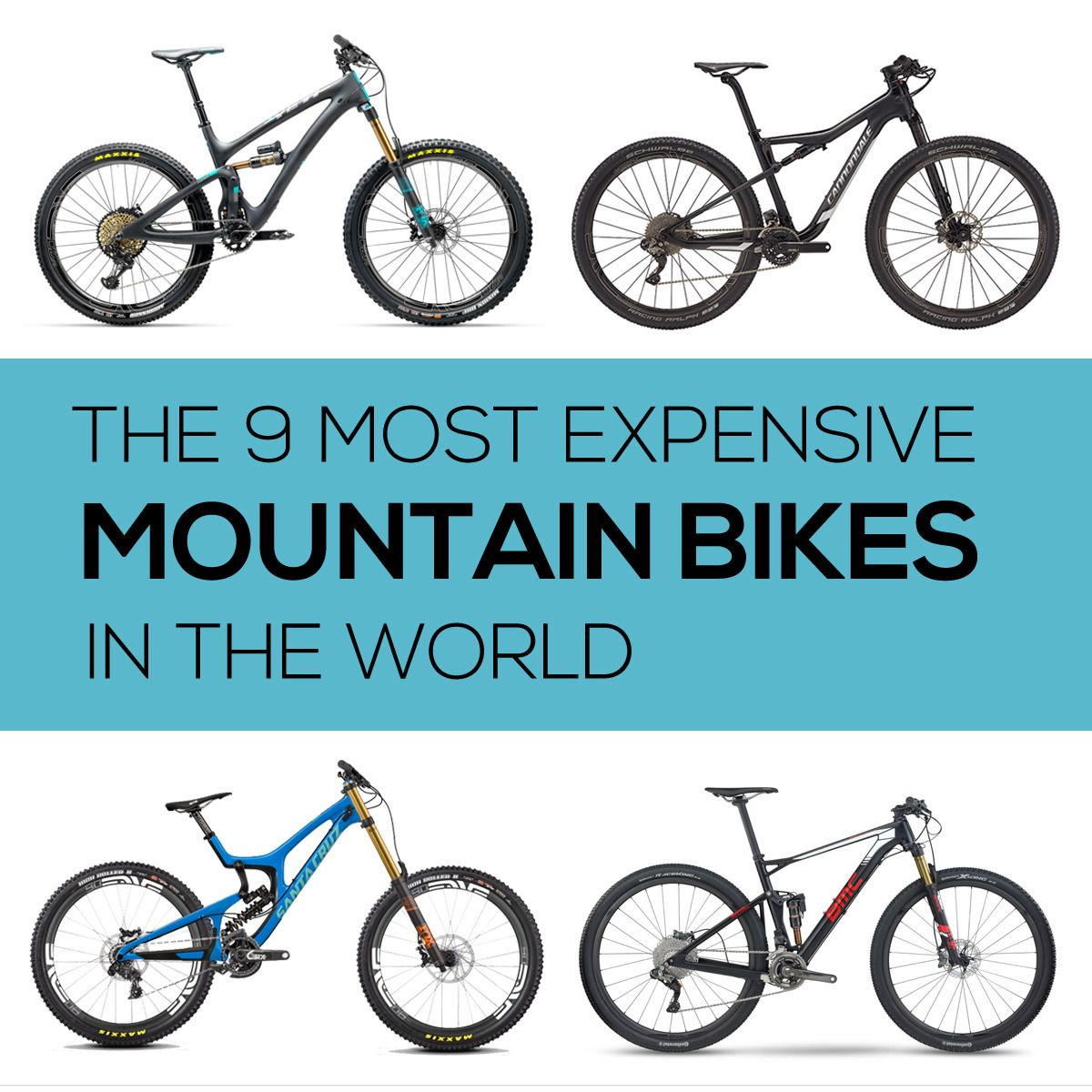 The 9 Most Expensive Mountain Bikes In The World Full Suspension Mountain Bike Hardtail Mountain Bike Mountain Biking