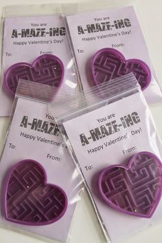 Serving Pink Lemonade: A-MAZE-ING Valentines! (Printable Included)