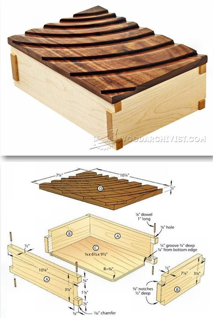Keepsake Box Plans Woodworking Plans And Projects Woodarchivist