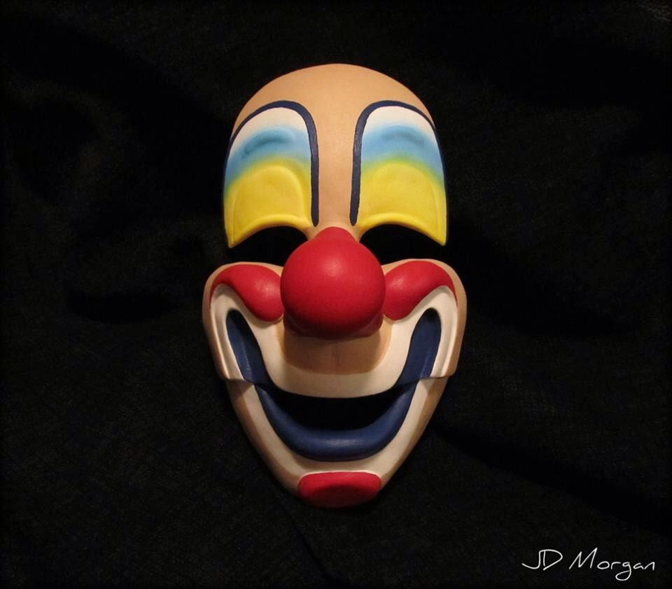 Michael Myers 1963 Clown Mask by JDMorganStudios on Etsy https://www ...