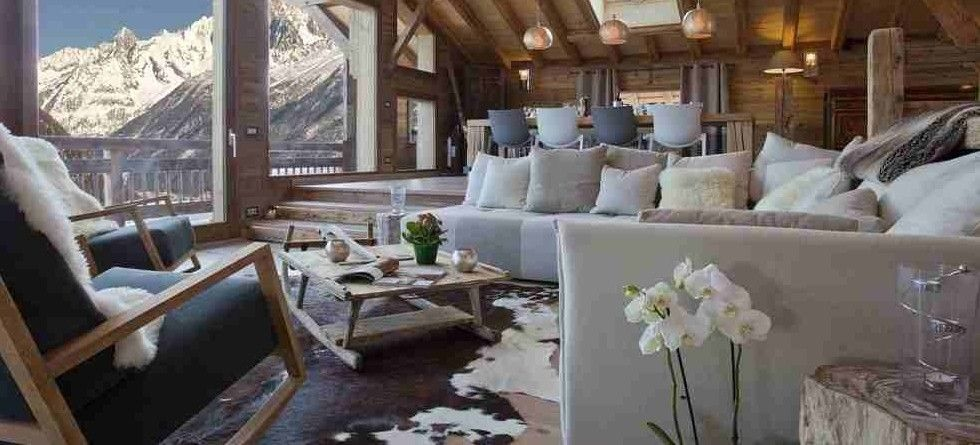 Chalet Amano Chamonix Valley - sitting room
