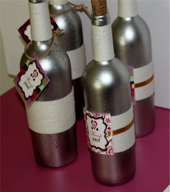 Decorative Wine Bottles Diy Awesome Diy Saturday  Vintage Paint Wine Bottles  Projects To Try Inspiration Design