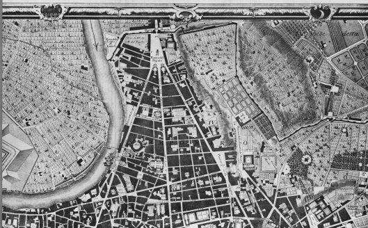 """Spazio pubblico, spazio condiviso, spazio privato. Dal 1748 la soluzione della """"strada completa"""" di Giovanni Battista Nolli"""