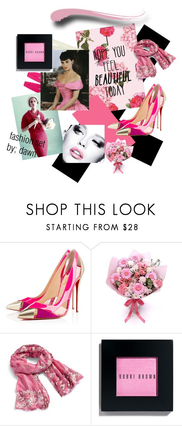 """Feel Pretty"" by dawn-lindenberg ❤ liked on Polyvore featuring Metropolis, Christian Louboutin, Vera Bradley and Bobbi Brown Cosmetics"