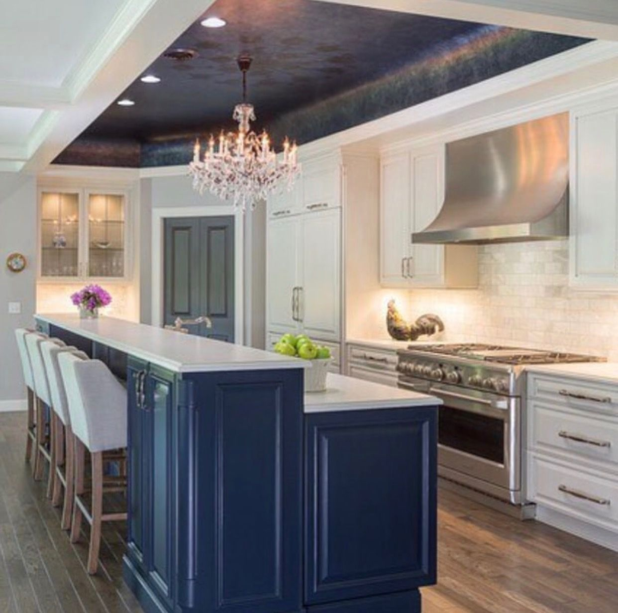 Modernized country kitchen | Home decor, Simple house ...