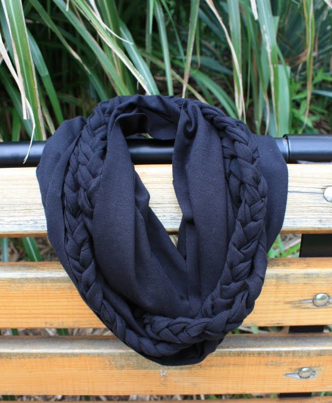 DIY braided infinity scarf | Yes | Pinterest | Pashminas, Costura y ...