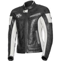 Photo of Spirit Motors ladies retro style leather jacket 1.0 anthracite size M Spirit Motors