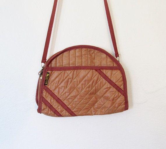 Vintage New Wave   Rocker Bagatti Quilted Shoulder Bag   Clutch Purse by  VelouriaVintage adf40d9ccf230