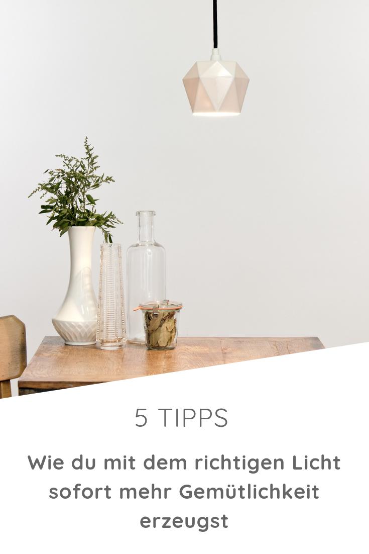 5 Tipps Wie Du Mit Licht Gemutlichkeit Erzeugst Mit Bildern