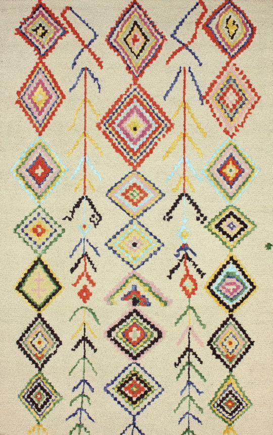 Berber Moroccan SM18 Multi Rug | Contemporary Rugs #RugsUSA